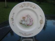 "Royal Albert Beatrix Potter 8"" Tom Kitten Child's Bone China Plate Clearance"