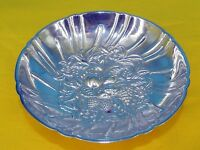 S KIRK & SON #431 STERLING SILVER REPOUSSE TRI FOOTED BERRY CANDY BOWL DISH 159g