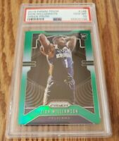 ZION WILLIAMSON 2019-20 Panini Prizm Green Rookie PSA 10 Gem Mint!🔥 Green Prizm