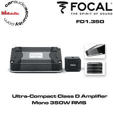 Focal FD1.350 Ultra Compact Mono Channel Class-D Car Amplifier 350W RMS Bass Amp