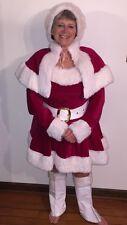 Adult Mrs Claus Christmas Costume Miss Santa Suit - Sexy Santa Assistant