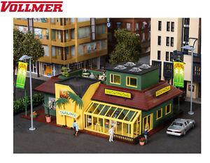 Vollmer H0 43656 Discothek mit LED-Beleuchtung - NEU + OVP