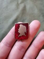 New listing WWII US Army 77th Coast Artillery Battalion DUI DI Crest Pin NS Meyer