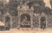 NANCY - Place Stanislas - Grille fer forgé de Jean Lamour - Fontaine d'Amphirite