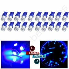 20PCS T10 194 Wholesale Blue 5050 5SMD LED for Honda License Plate Lights Bulbs