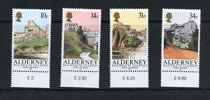 C162  Alderney  1986  forts   4v.      MNH