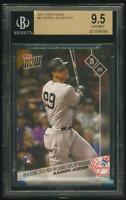 AARON JUDGE 2017 Topps NOW RC #87 BGS 9.5 GEM MINT NY New York Yankees (qty)