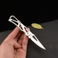 EDC Outdoor Survival Tool Fishing Camping Pocket Folding Rescue Money Clip Knife