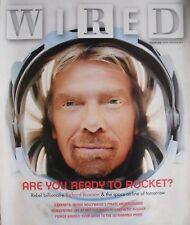 Brand New WIRED MAGAZINE January 2005  RICHARD BRANSON - REBEL BILLIONAIRE