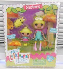 SISTERS Twinkle N Flutters + Pix E Flutters LalaLoopsy Mini Doll NEW