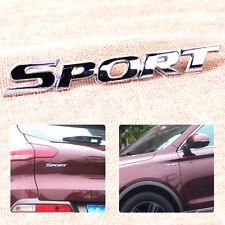 Hot 3D Metal Chrome Sport Letter Logo Emblem Badge Sticker Auto Car Decal Decor