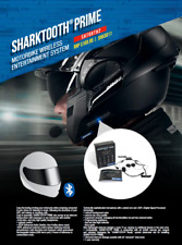 Shark SharkTooth Prime BlueTooth Headset for Motorcycle Helmets #SHTOOTH2