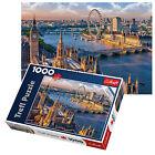 TREFL 1000 pezzi ADULTO GRANDE LONDON EYE BIG BEN Thames pavimento Puzzle NUOVO