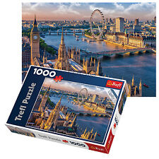 Trefl 1000 Piece Adult Large London Eye Big Ben Thames Floor Jigsaw Puzzle NEW