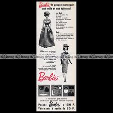Mattel Vintage BARBIE - 1964 Pub / Publicité / Original Advert #C33