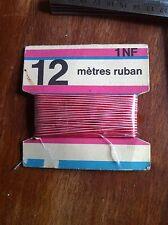 Vintage 12 Mètres De Ruban