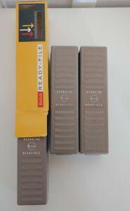 Vintage Kodak Ready-Files (3) for Photographic 2x2 Slides One w Original Box
