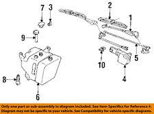 GM OEM Wiper Washer-Windshield-Nozzle Spray Jet 25540674