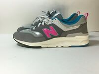 New Balance 997H Castlerock Mens Sneakers Shoes CM997HAH Gray Pink Blue Size 10