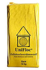 Zellulose-Schüttdämmung-Fussboden-Unifloc-Wärmedämmung-Einblasd��mmung 14kg Sack