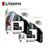 NEW Kingston 128GB 256GB Canvas Select Plus microSDXC A1 UHS-I for mobile phone