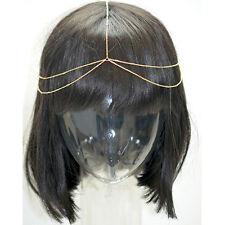 Hammered Chain Head Piece JHC1000 Gold
