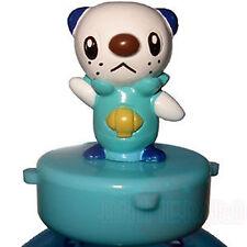 Pokemon Bw2 Mascot Rubber Stamp Figure Oshawott Mijumaru Black White Tomy Japan