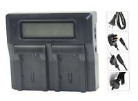 New Dual LCD Battery Charger For BP-808 BP-819 BP-820 BP-827 BP-828 CG-800E G10