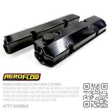 AEROFLOW FABRICATED ROCKER COVERS V8 355-304 [HOLDEN VN-VP-VR-VS-VT COMMODORE]