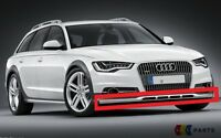 NEW GENUINE AUDI A6 C7 ALLROAD 13-17 LOWER FRONT BUMPER STAINLESS BAR TRIM