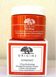 Origins Ginzing Ultra Hydrating Energy Boosting Moisturiser - NEW 50ml BOXED