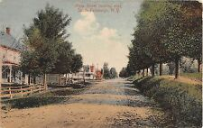 1910 Homes Main St. looking East South Fallsburgh NY post card Sullivan county