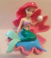 Disney Little Mermaid ARIEL Clam Shell Pearl PVC Figure Cake Topper Toy