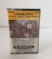 Casablanca Cassette Tape Casbah Humphrey Bogart Ingrid Bergman NEW Unopened