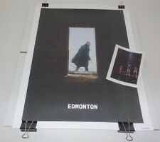 Justin Timberlake Man of the Woods Tour Vip Edmonton #d/260 Poster & Photo Set