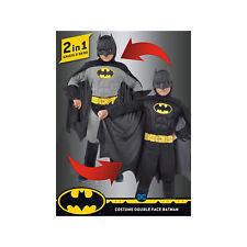 Ciao Costume Batman 2-In-1 Con Muscoli Pettorali Imbottiti DC Comics Bambino