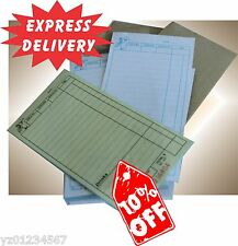 Special Offer! 200 LARGE Restaurant Docket  Books. Duplicate Fast Delivery