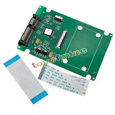 1.8'' ZIF to 7 + 15 Pin HDD Hard Disk Drive SSD SATA Adapter Converter Card