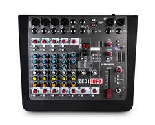 Allen & Heath ZEDI-10FX 10-Input Hybrid Mixer/USB Interface with FX Effects--