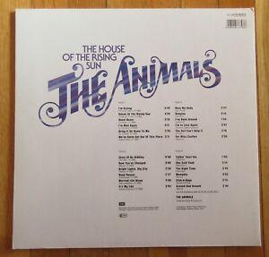 THE ANIMALS ORIG RNB SINGLES COLLECTION RAK 1978 G/F 2-LP NEU ERIC BURDON RISING