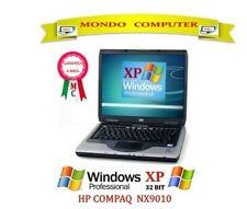 COMPUTER PORTATILE HP NX9010 / CPU INTEL PENTIUM 4 /2,40GHZ/ WINDOWS XP _LICENZA