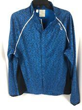 Saucony Running Jacket Men's Size Large EUC 100% Polyester Blue