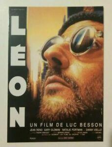 carte postale cinéma film LEON Luc Besson Jean RENO Natalie PORTMAN