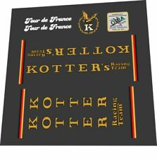 KOTTER TOUR DE FRANCE FRAME DECAL SET
