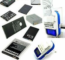 Universal Akku Charger LCD USB Port Netzteil Ladegerät Für Samsung Galaxy Gio