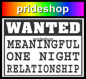 Meaningful Relationship Fade Resistant Adhesive Sticker Lesbian Gay Pride #509