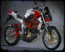 Bimota Db6R Delirio 08 A4 Metal Sign Motorbike Vintage Aged