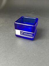 GAULOISES Tabak Windlicht 6x6cm Glas Metall Zigarre Zigaretten