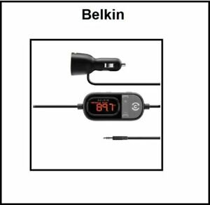 BELKIN TuneCast In Car 3.5mm to FM Transmitter iPhone 6s Galaxy S9+ Note8 LG G6