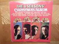 FACTORY SEALED RHINO LP RECORD/ FOUR SEASONS /CHRISTMAS ALBUM/ REISSUE